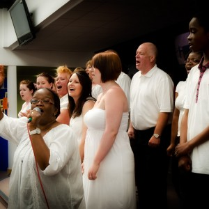Kingsland Community Gospel Choir Easter presentation